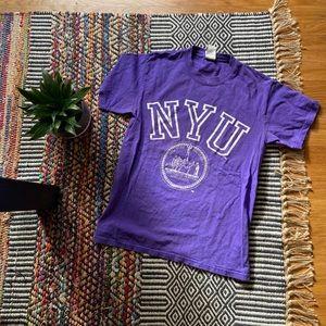 Vintage NYU tshirt size small
